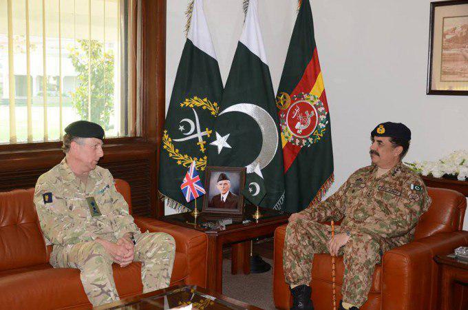 ریس ارتش انگلستان در پاکستان