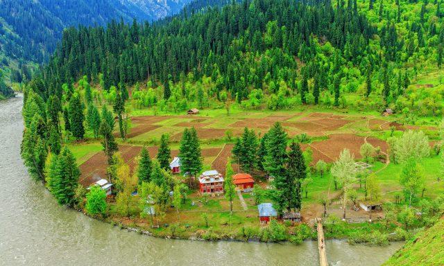دره نیلم، مرکز گردشگری پاکستان