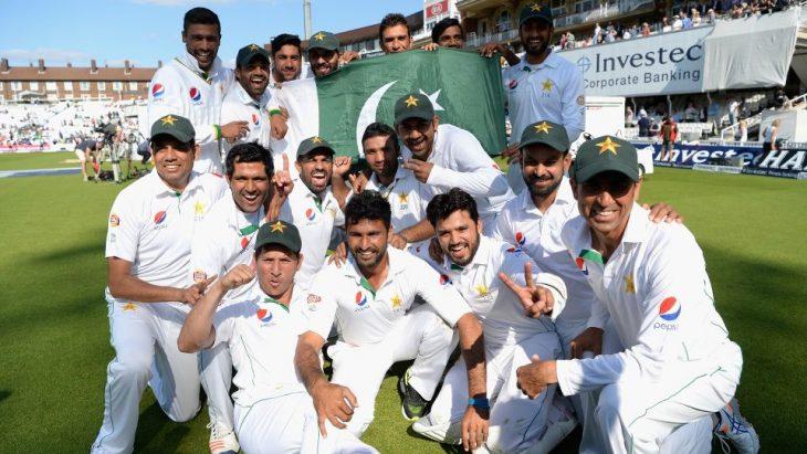 جایگاه پاکستان در مسابقه های کریکت