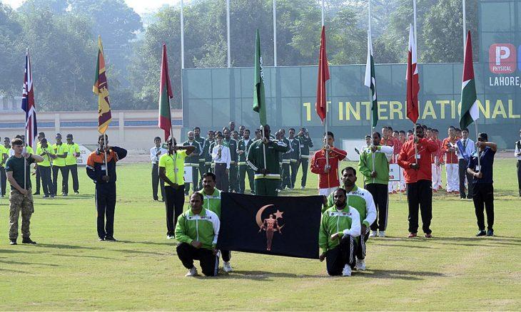 تورنمنت ورزشی نظامی در پاکستان