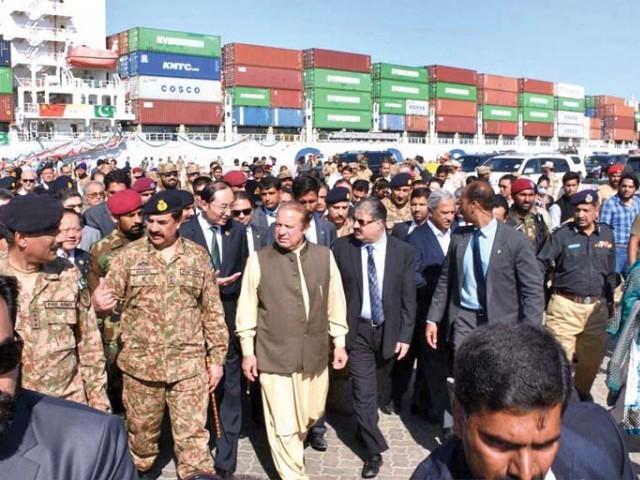 توسعه اقتصادی و پروژه کلان بین چین و پاکستان