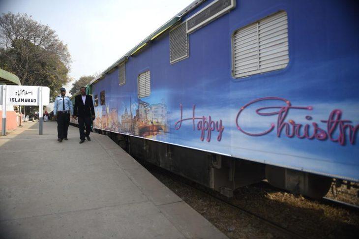سفر قطار کریسمس در پاکستان