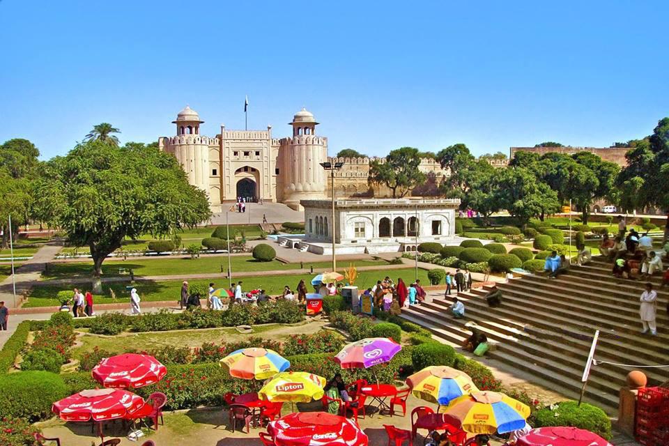 قلعه لاهور در شهر لاهور پایتخت فرهنگی جهان اسلام