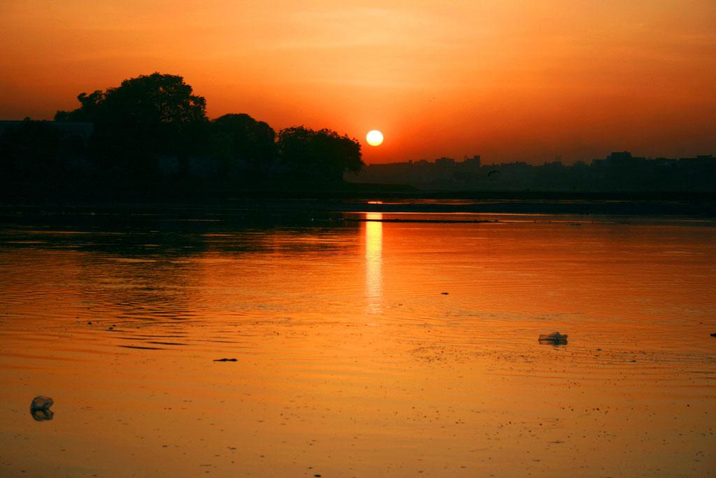 غروب آفتاب در شهر لاهور پایتخت فرهنگی جهان اسلام