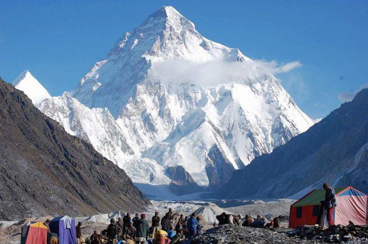 قله کی 2 در ایالت گلگیت و بلتستان