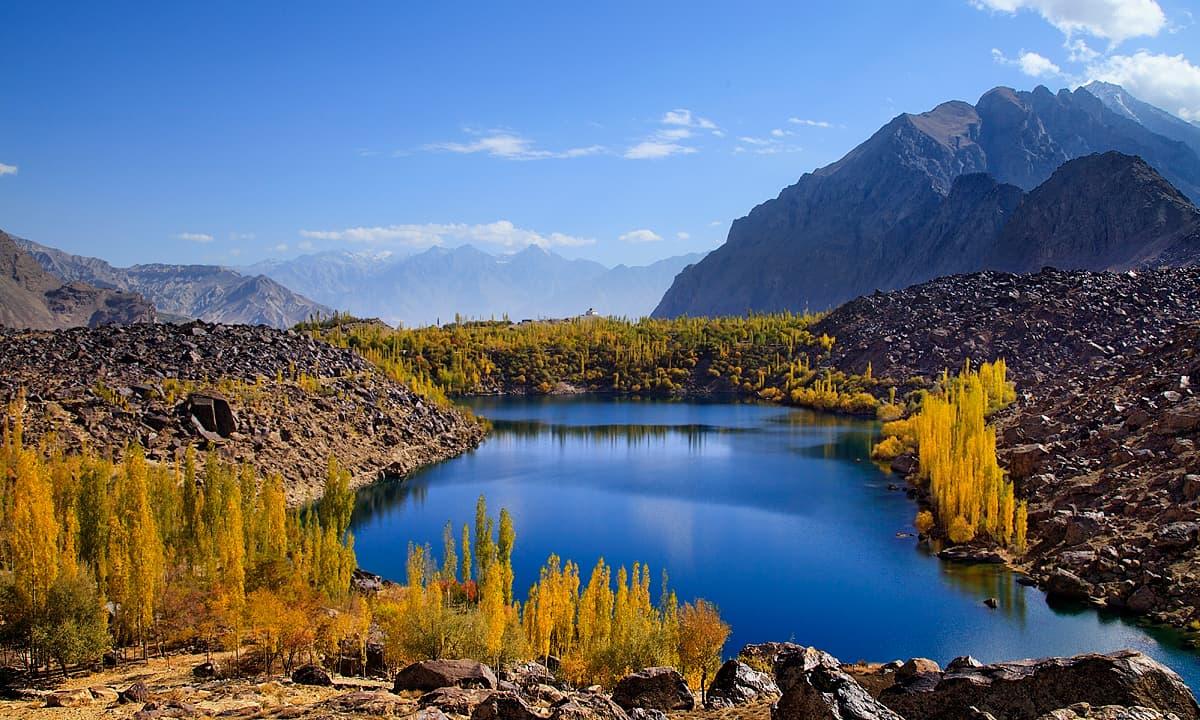 دریاچه ها در شهر اسکردو پاکستان