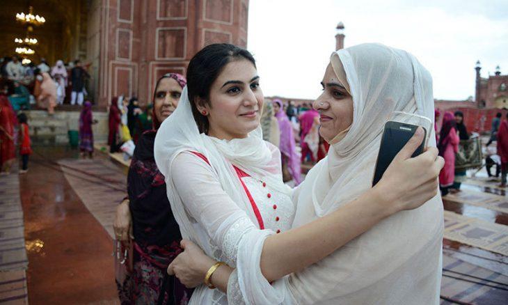 عید فطر در پاکستان - در شهر پیشاور