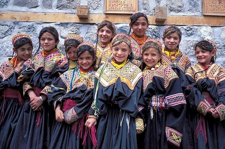 مردم مناطق کوهستانی پاکستان