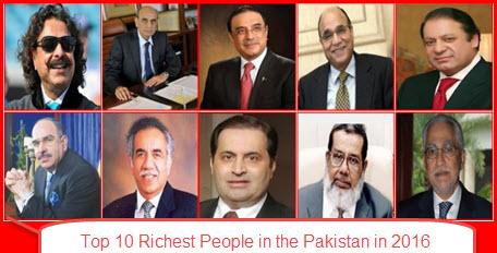 10 پاکستانی موفق ملیاردر