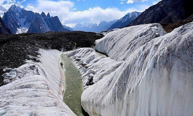 راه در یخچال طبیعی بالترو