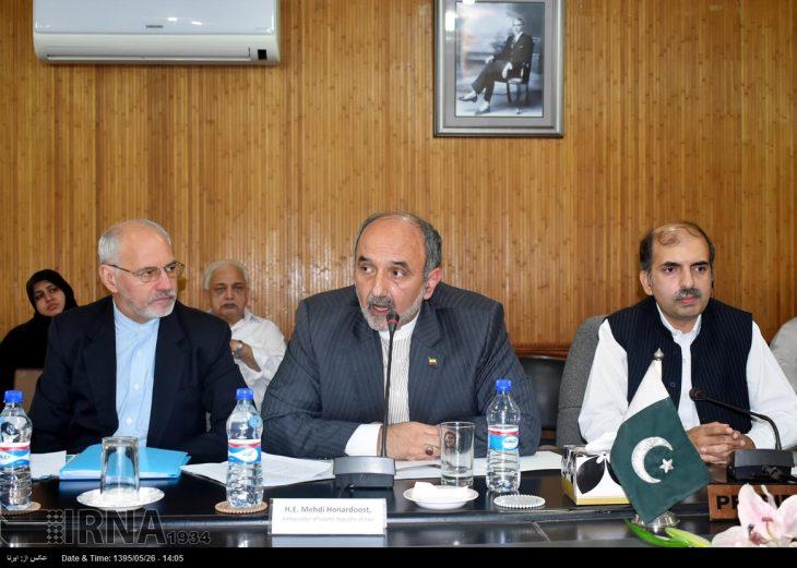 سفیر ایران در پاکستان در امور روابط تجاری ایران و پاکستان