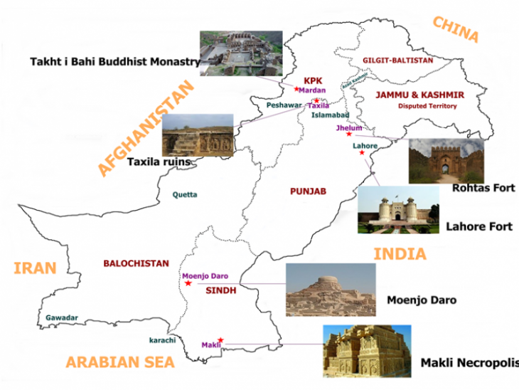 آثار تاریخی پاکستان