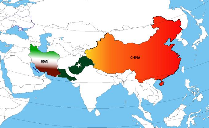چین و ایران و پاکستان