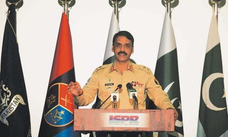 آصف غفور سخنگویی ارتش پاکستان