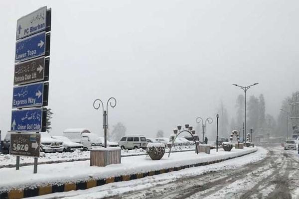 بارش برف در پاکستان