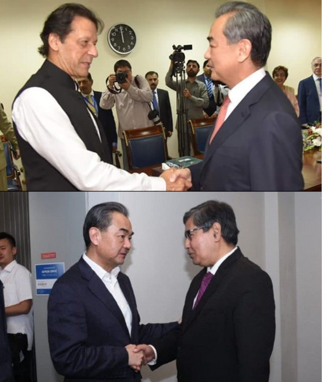 china minister in pakistan