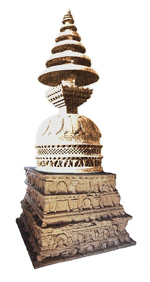 Jaulian_pyramidal_stupa