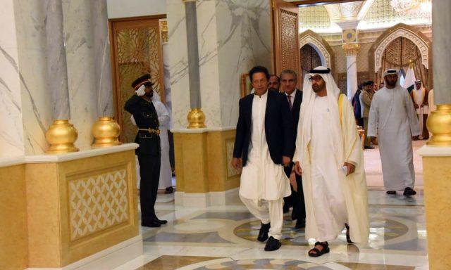 عمران خان در امارات