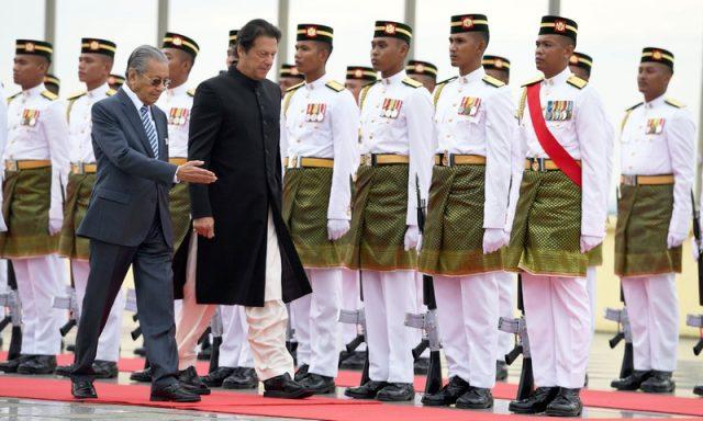 استقبال مالزی از عمران خان