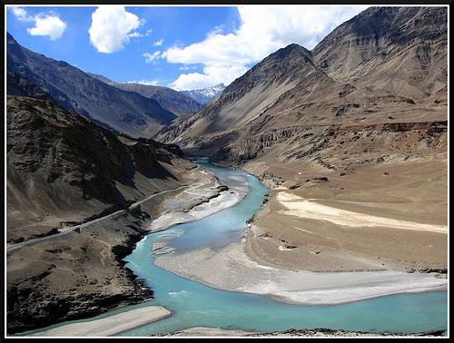 chenab river of pakistan