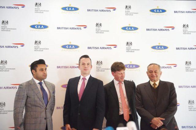 British Airways to Pakistan