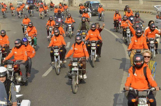 Women on Wheels campaign in punjab