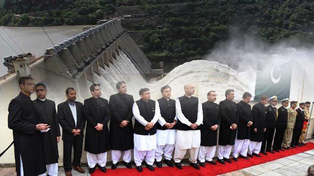 Diamer-Bhasha and Mohmand dams