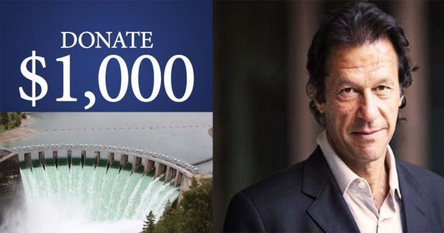"""Donate-1000-to-construct-dams""""-PM-Khan"""
