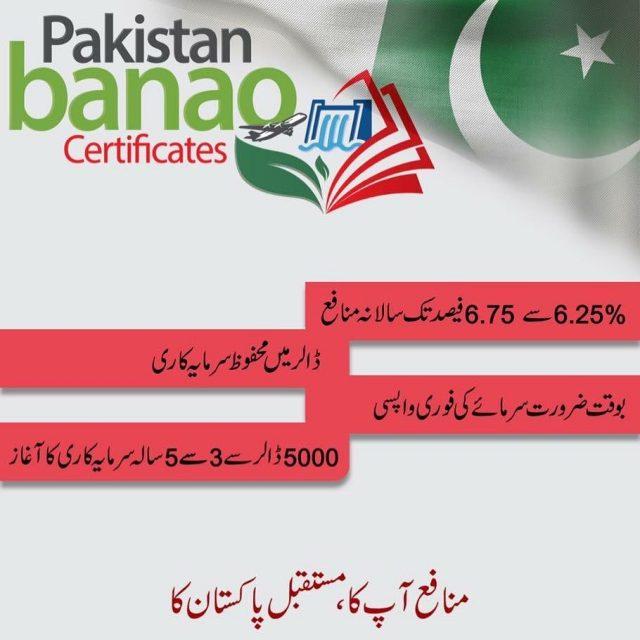 Pakistan Banao Certificates