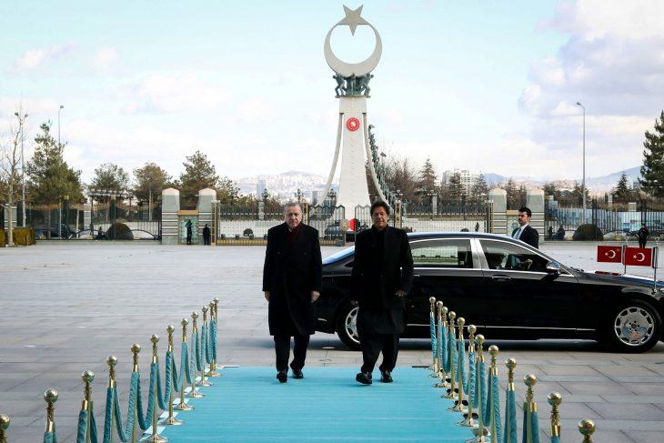 Prime Minister Imran Khan meets Turkish President Recep Tayyip Erdogan