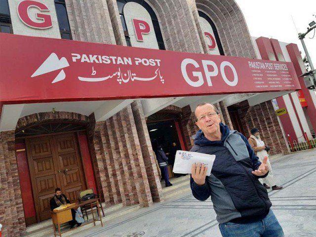 German envoy praises Pakistan Post's 'reliable, fast service'