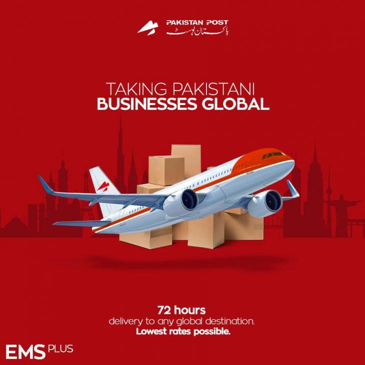 Pakistan-Post-launches-export-parcel-service-'EMS-Plus