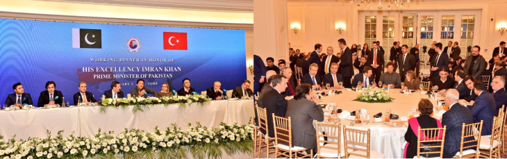 imran khan invite turkish investor