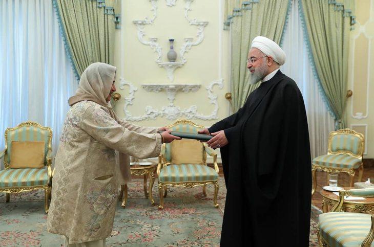 سفیر زن پاکستان در ایران