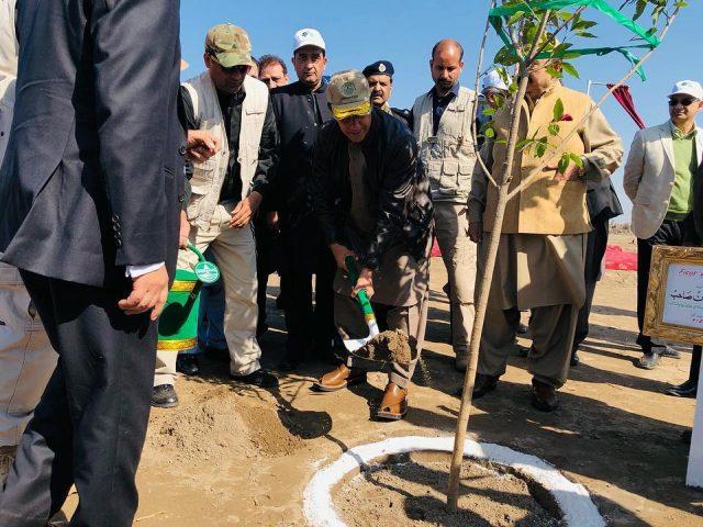 prime Minister Imran Khan inaugurates spring plantation drive 2019