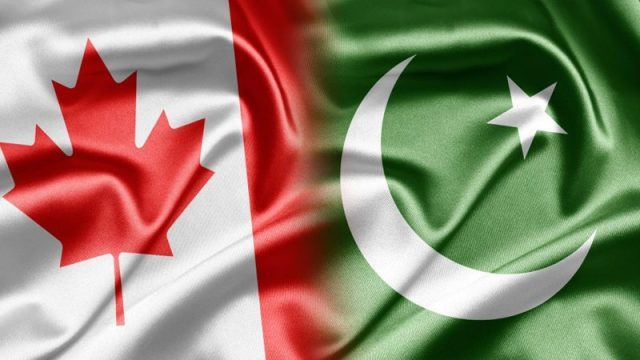 روابط کانادا با پاکستان