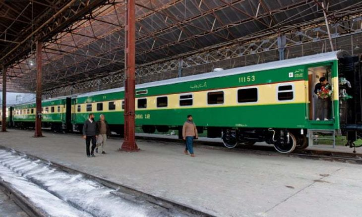 خط راه آهن در کریدور اقتصادی چین-پاکستان (CPEC)