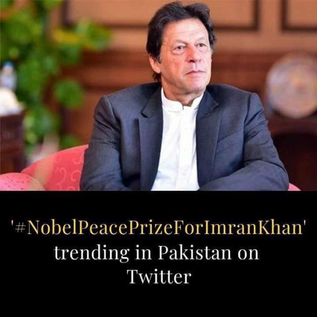 #nobelpeaceprizeforimrankhan
