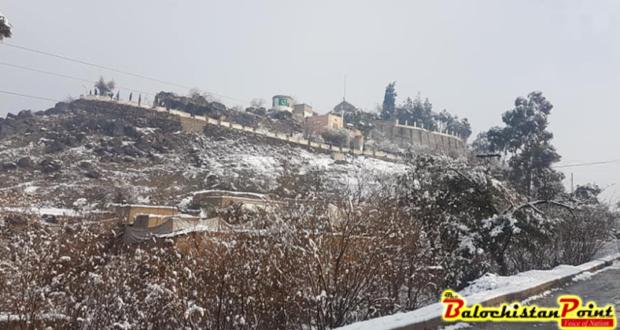 بارش برف و باران در پاکستان
