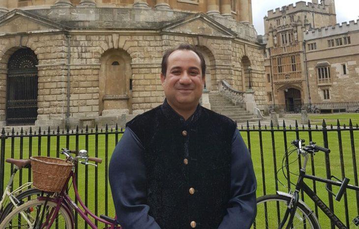 راحت فتح علی خان در آکسفورد