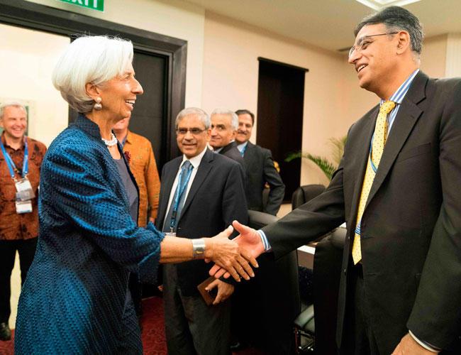 صندوق بین المللی پول در پاکستان