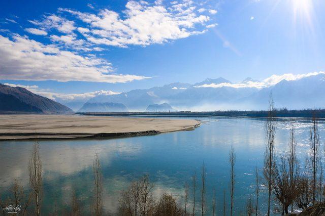Indus at Skardu