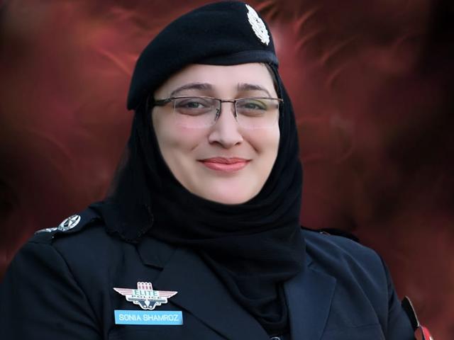 Sonia Shamroz first woman in Khyber Pakhtunkhwa Police