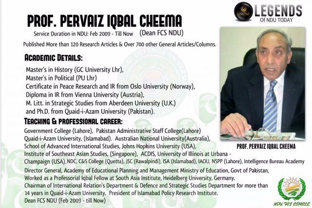 Dr Pervaiz Iqbal Cheema