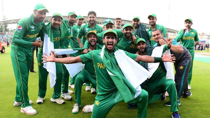 pakistan win world cup cricket