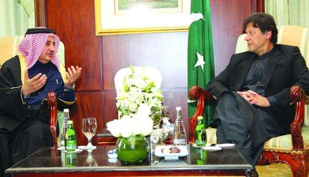 جلسه صندوق سرمایه گذاری قطر با نخست وزیر پاکستان