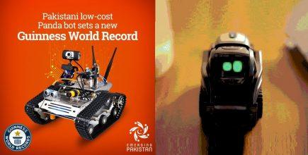 رکورد جهانی جدید در ضمینه رباتیک در پاکستان