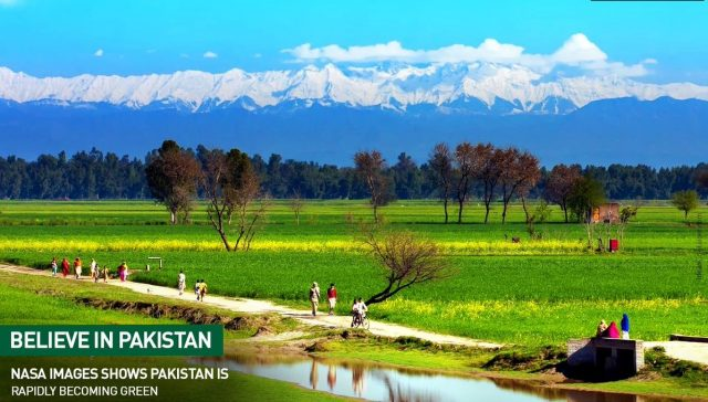 pakistan is green country