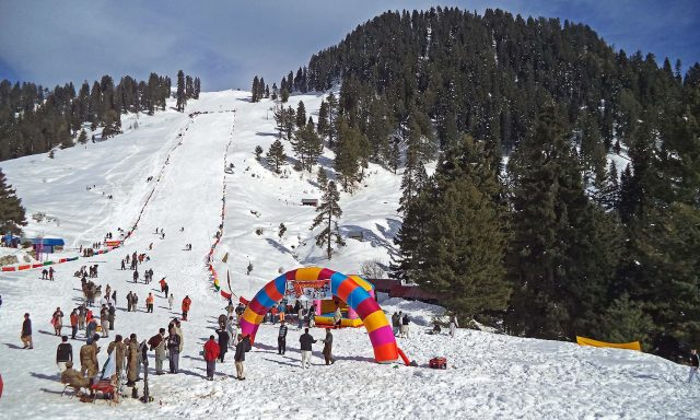 international tourists in Pakistan's Swat Valley