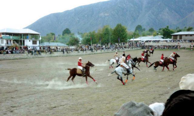 polo in Shandur Pass